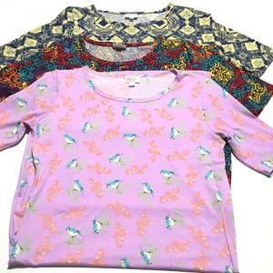 LULAROE Printed Julia Dress Lot Size Large